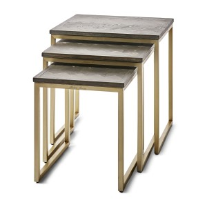 Stolik Costa Mesa End Table  S/3 Riviera Maison