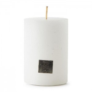Świeca Rustic Candle Frosted Riviera Maison 7x10